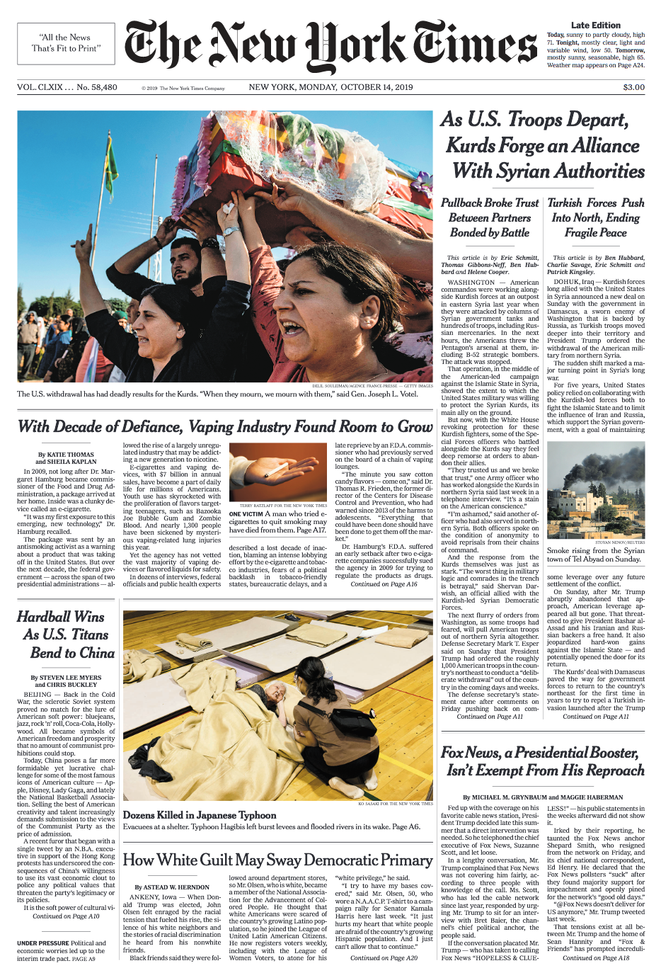 NYT_FrontPage_101419.png