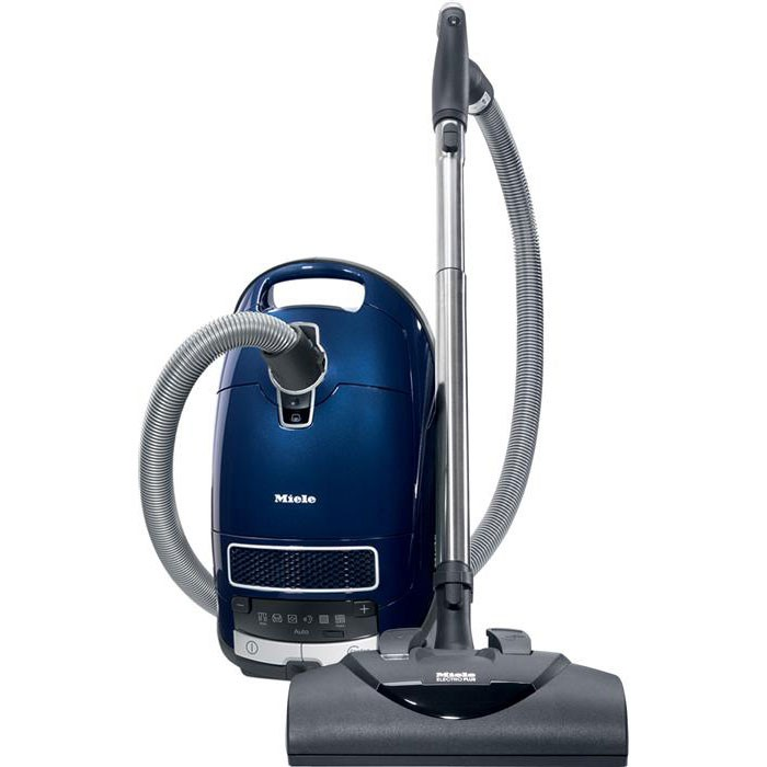 Miele C3 Marin  * high suction power - 1,200 w  * optimum carpet care - with electrobrush with LED's  * gentle on delicate hard floors  * maximum air hygiene with HEPA air clean filter  * no need to stop thanks to plus/minus foot control
