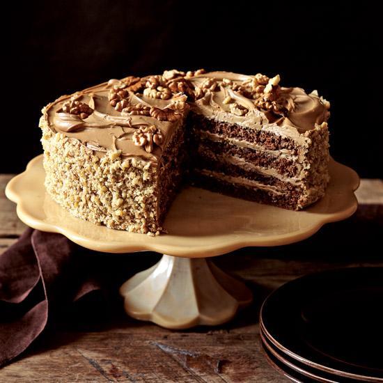 mocha rum cake