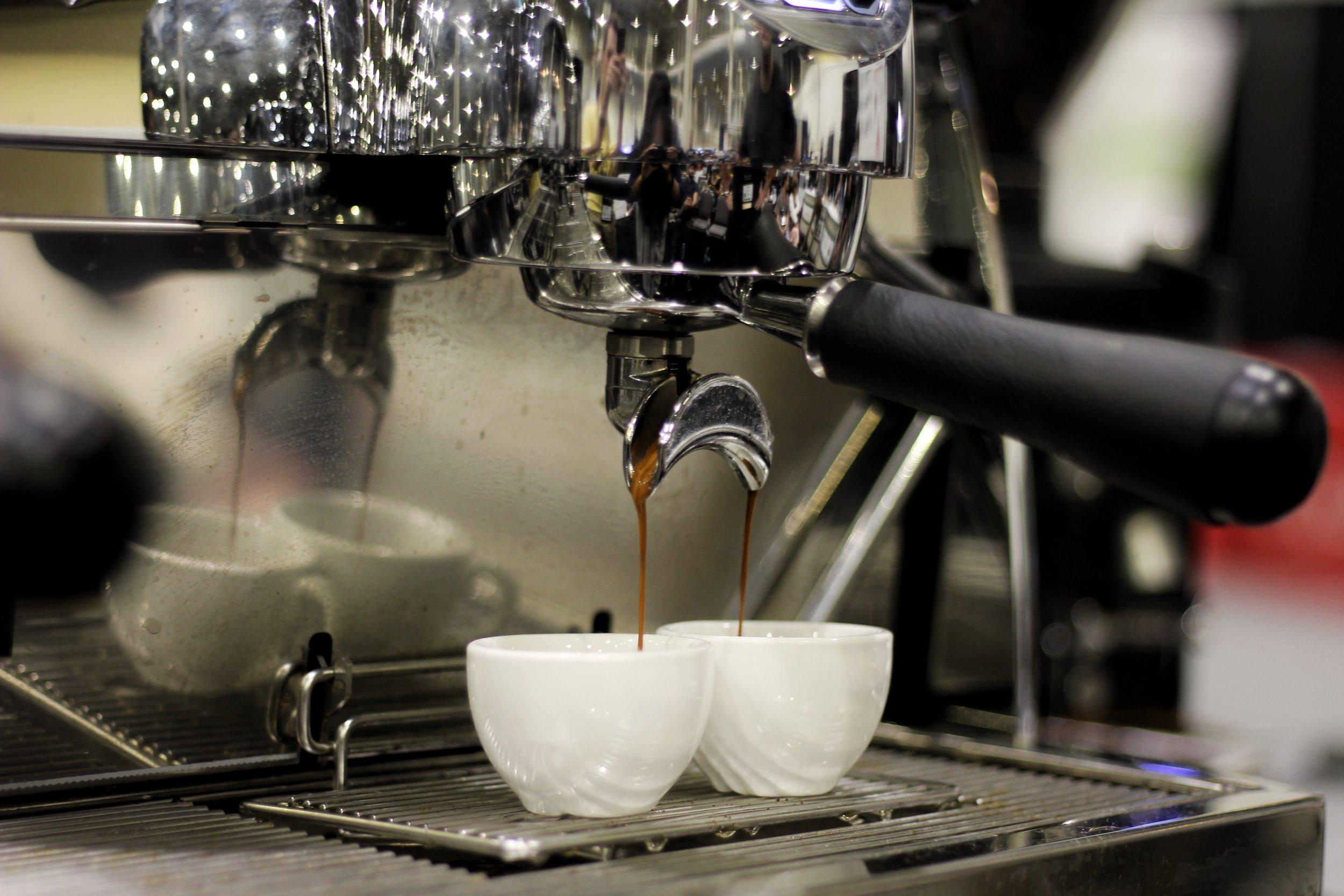 tinker coffee espresso service