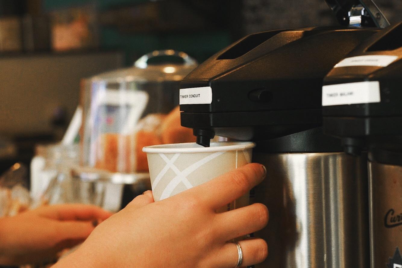 tinker coffee batch brew service