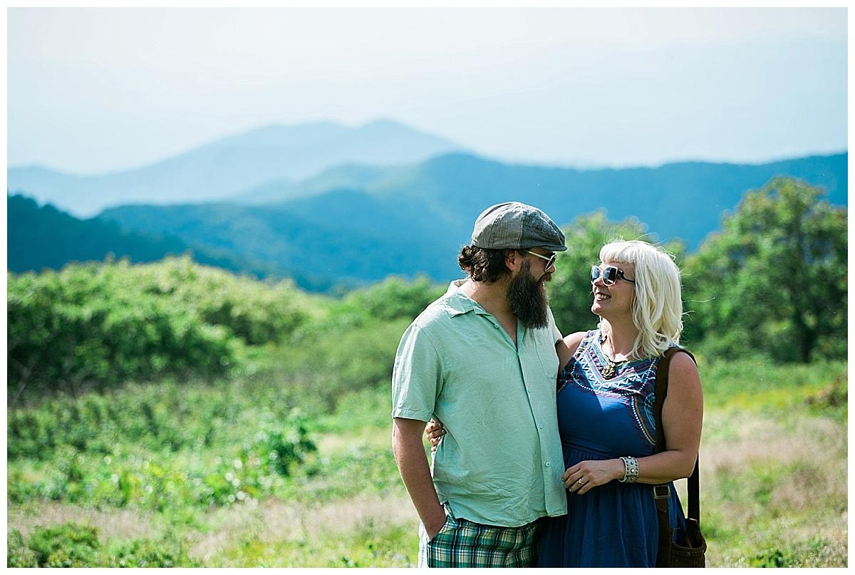 asheville proposal photos