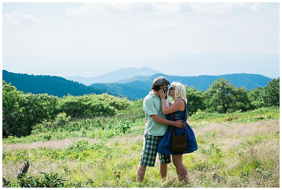 asheville engagement photos