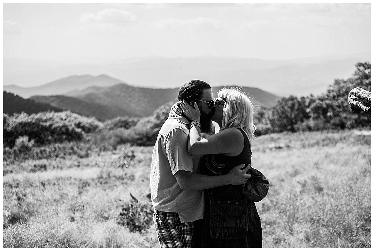 asheville engagement pictures