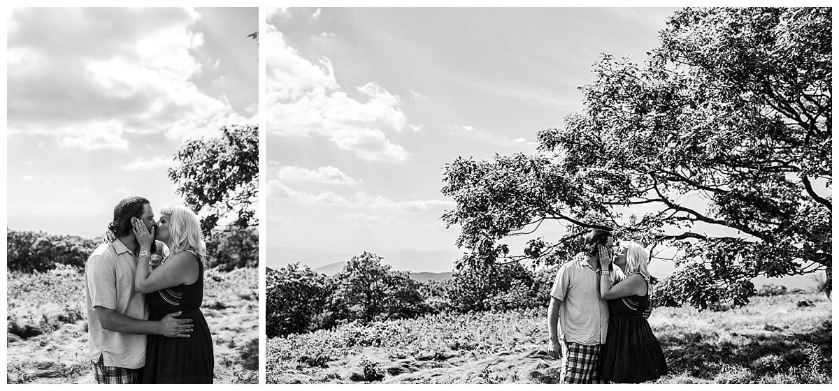 asheville engagement pics