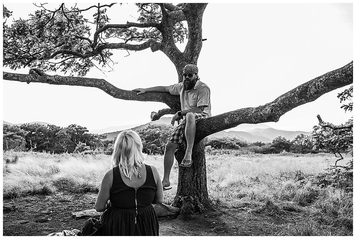 asheville engagement photographer