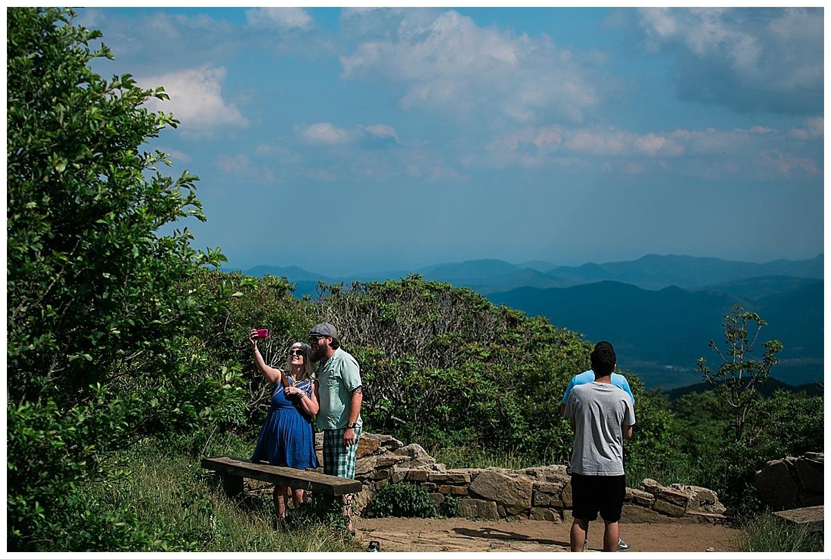 asheville proposal photography