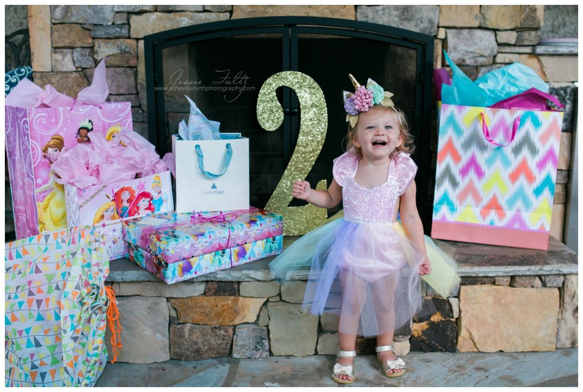 asheville birthday photography