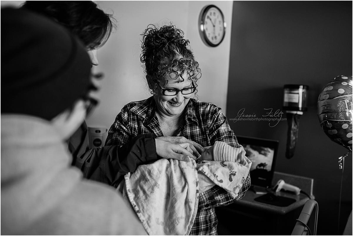 Hendersonville NC birth photographer