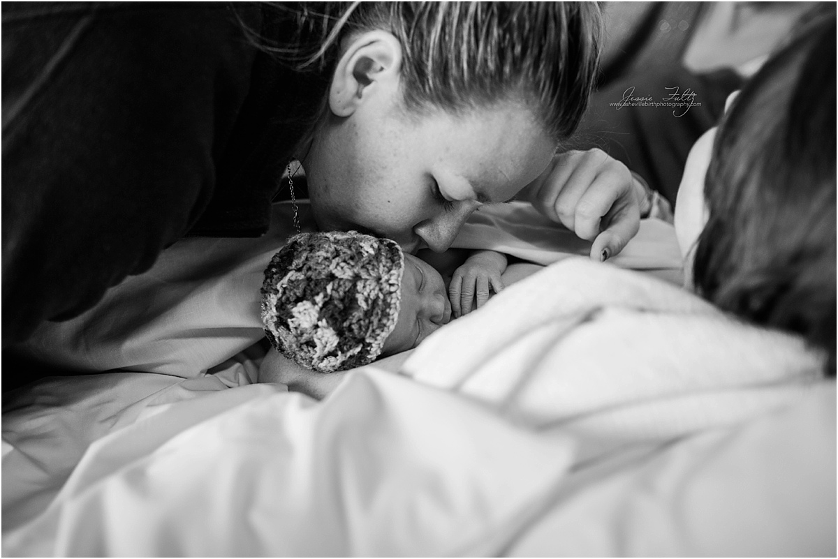 Asheville NC birth photographer