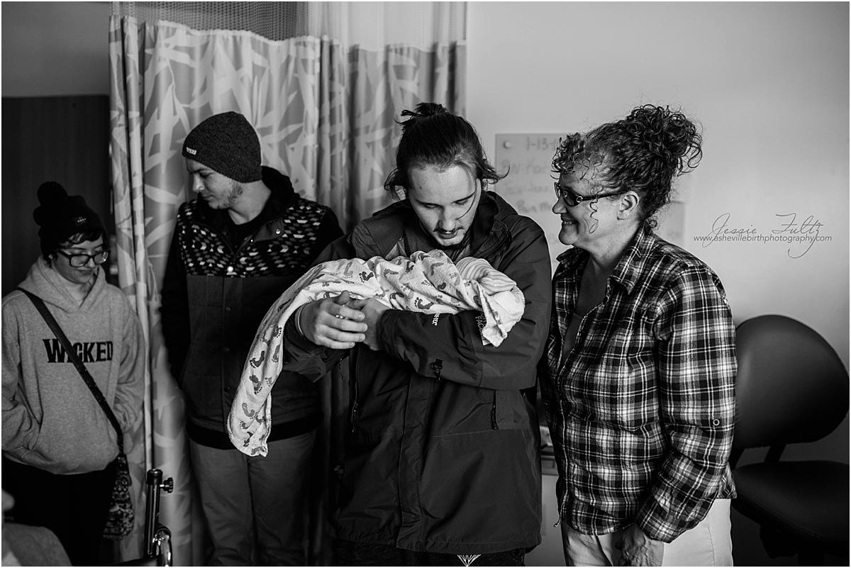 Fletcher NC birth photography
