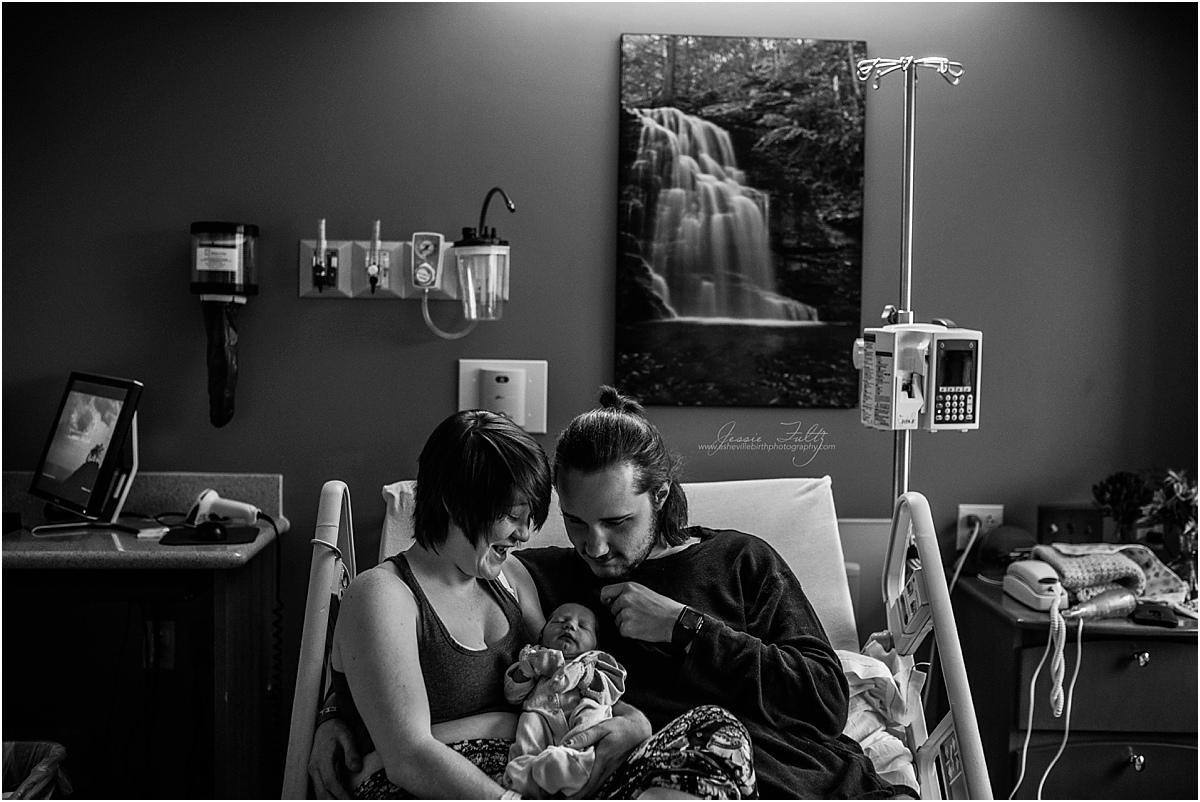 hendersonville nc newborn photographer