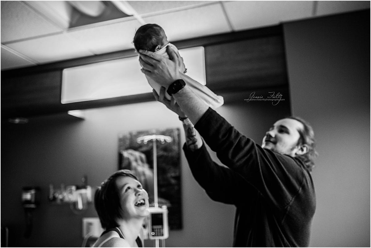 Asheville newborn photographer