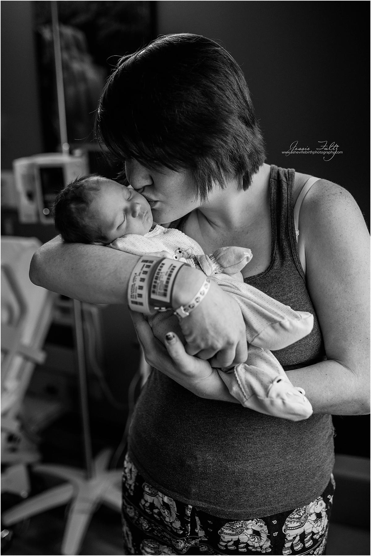 Asheville birth photographer