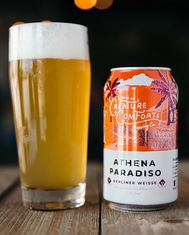 Athena Paradiso with passion fruit & guava is on shelves now and available in the tasting room. Cheers!