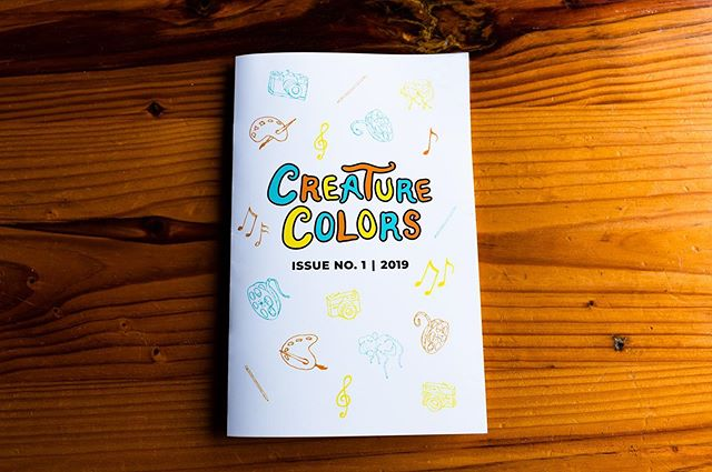 The major Get Artistic fundraising season of 2019 is over, but you can contribute to the program year-round by purchasing our Creature Colors Booklet now available in our retail store! Your purchase goes directly to funding Get Artistic grants for artists and arts nonprofits in the local community.  Link to purchase available in our profile.