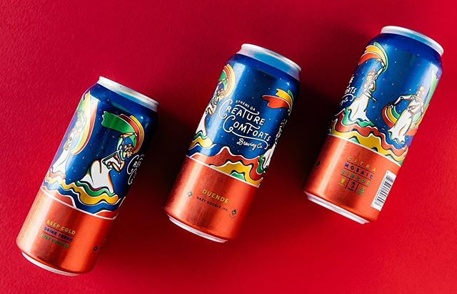 Tomorrow is the day to grab your Duende!  We will be releasing the beer from the tasting room in 4pk 16oz cans to go starting at 1PM on 9/13 and on draft at 3PM when the taproom opens.  What do you think about the new can design?