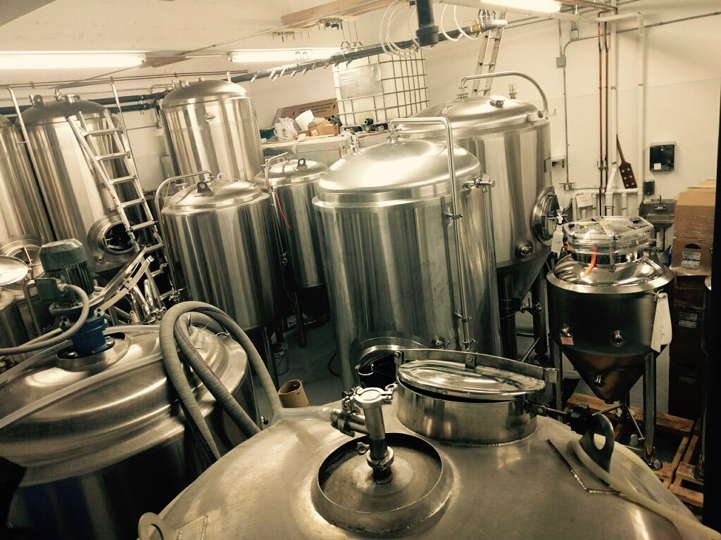Voila! A forest of fermentors. It will be a wonderful summer!