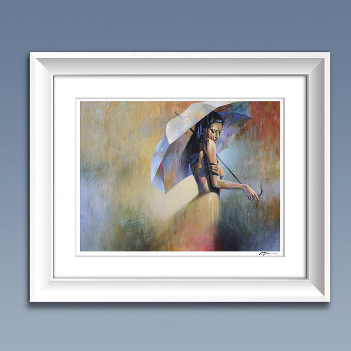 Summer Rain Abstract Figure Fine Art Print Limited Edition Free Shipping Art2d Gallery Naples Fl Contemporary Fine Art Prints Modern Abstract Artwork By Southwest Fl Artist Timothy Parker