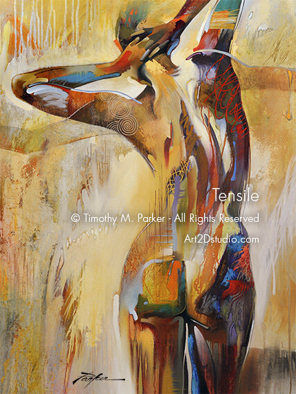 Tensile • Abstract Figure Fine Art Print • Limited Edition • Free Shipping  — Art2D Gallery Naples FL - Contemporary Fine Art Prints & Modern Abstract  Artwork By Southwest FL Artist Timothy Parker