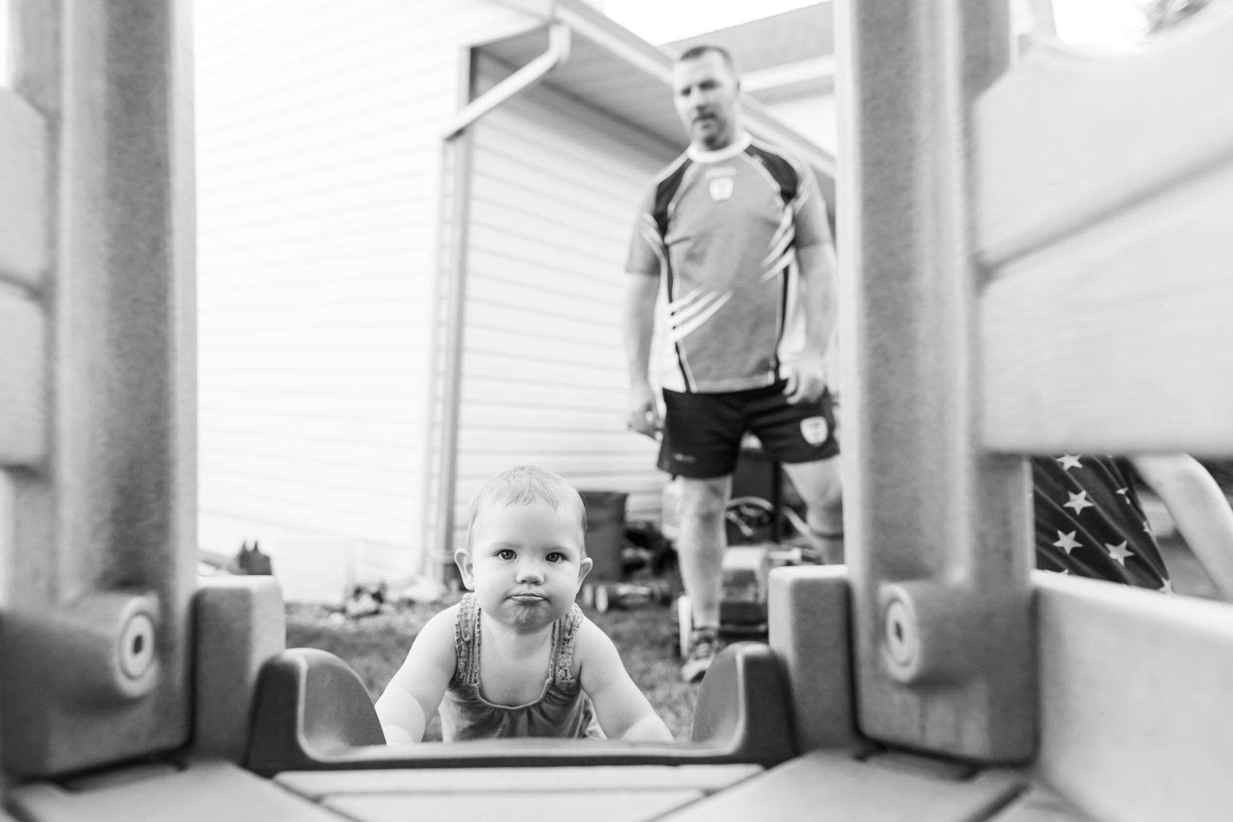 Surrey Family photographer. Vancouver family photographer, klutch Photography, documentary photography, candid photography, climbing up the slide