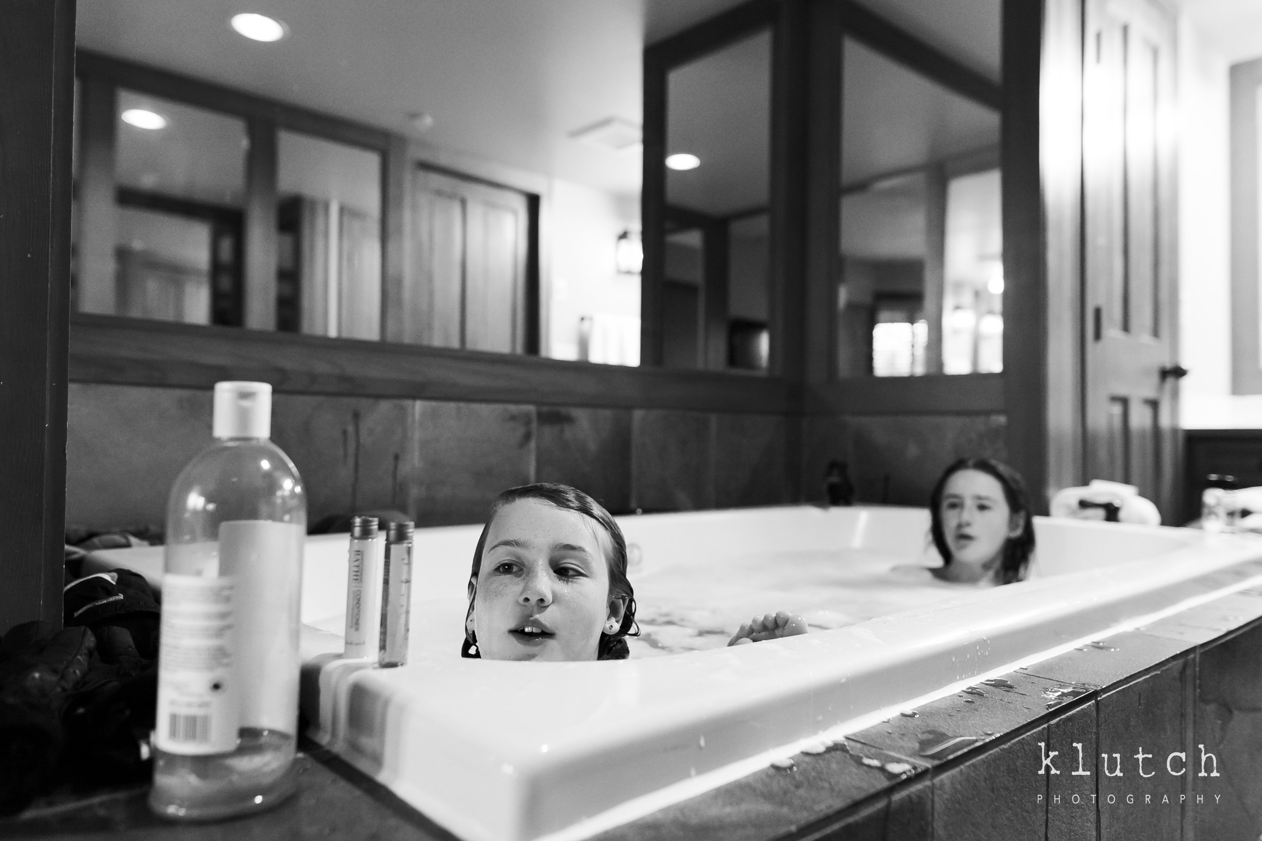 Girls playing in bathtub-Surrey Family Photographer. Vancouver family photographer, klutch Photography, documentary photography, Vancouver documentary photographer, candid photography, lifestyle photographer, a day in the life session, family photography, Vancouver Photographer, Surrey Family Photographer, White Rock family Photographer, Dina Ferreira Stoddard-6133.jpg