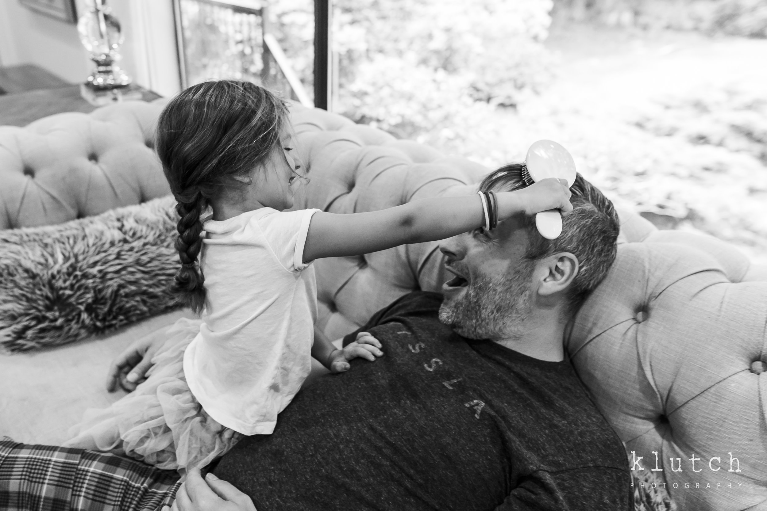 daughter combing dads hair,Klutch Photography,white rock family photographer, vancouver family photographer, whiterock lifestyle photographer, life unscripted photographer, life unscripted session, photography,Dina Ferreira Stoddard-9855.jpg