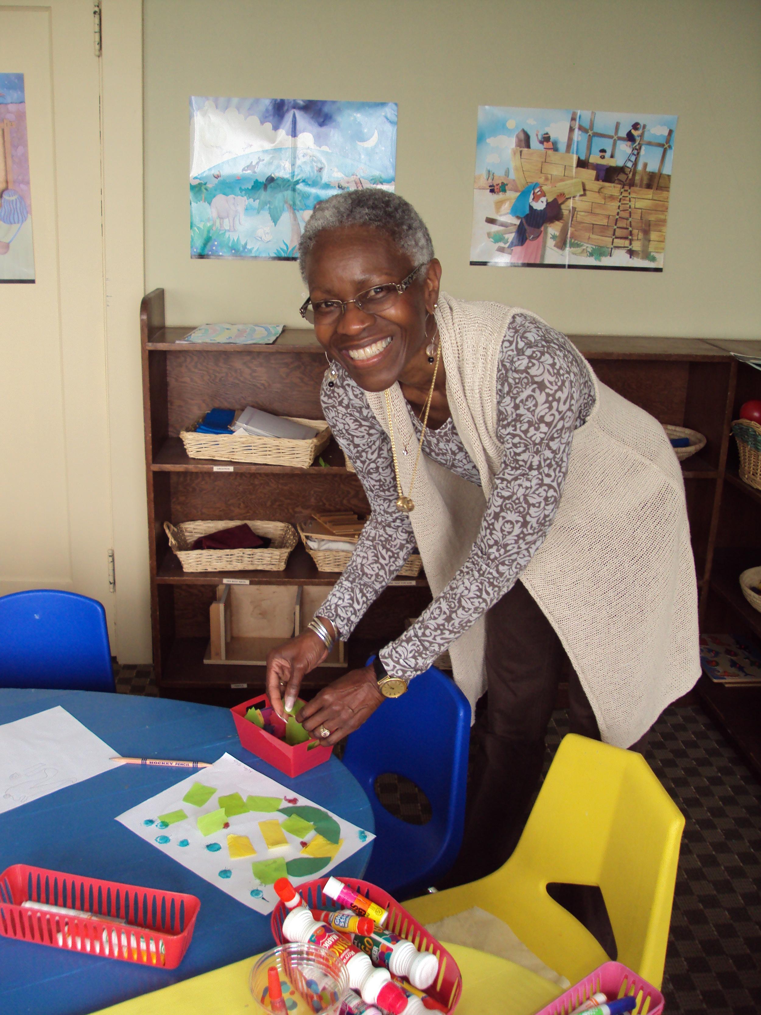 GP Edwina in Godly play area
