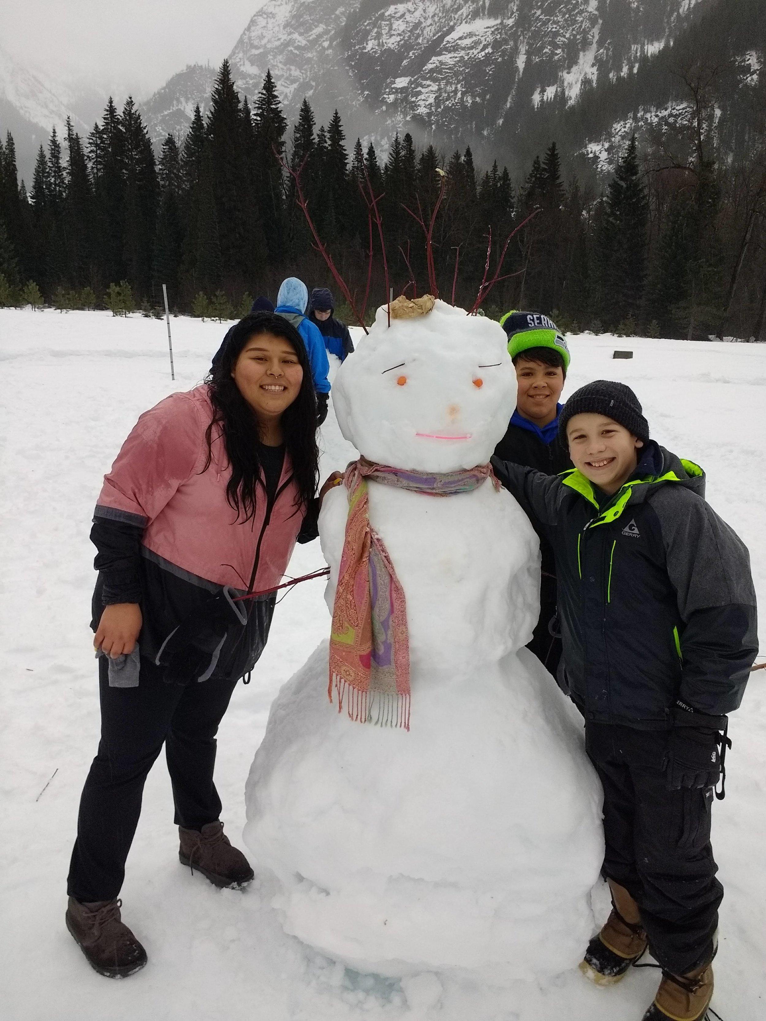Snowman Competition.