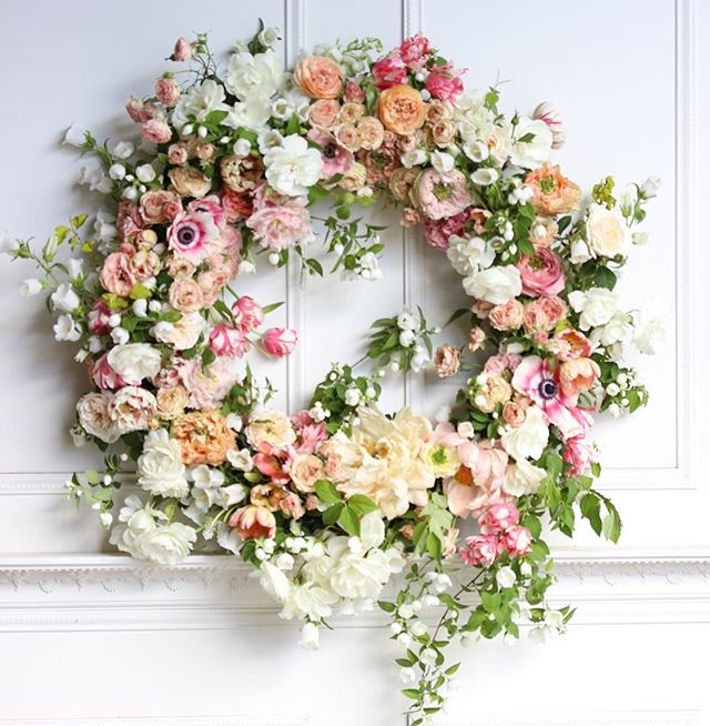 circlet of life - Celebration of Life/Memorial Wreaths designed in our signature Wilder™ style, lush with garden florals and designed to age with beauty.Ranging from $200-$400