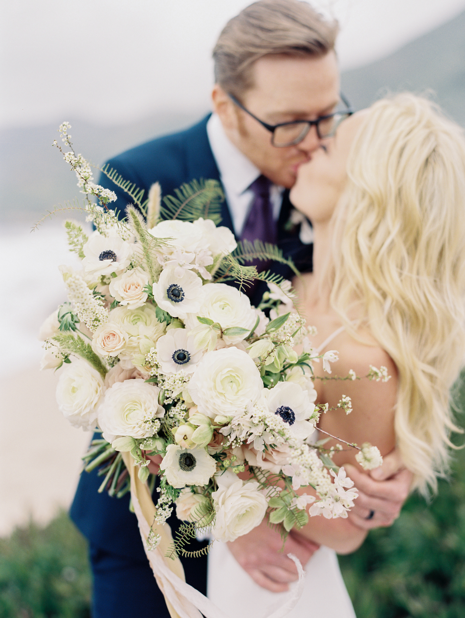 — J A M I E + C H A D —  intimate wedding | big sur, california   click to see more