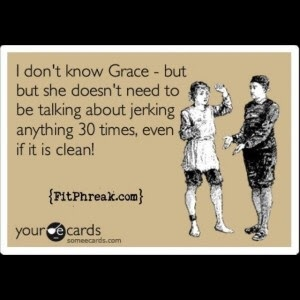 Congrats to everyone on your Grace PRs last month! We're so proud of you!