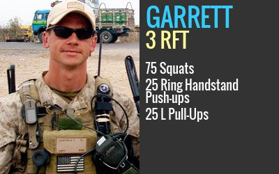 "Garrett Lawton | Age 31 | Charleston, West Viriginia   Marine Capt. Garrett T. ""Tubes"" Lawton, 31, of Charleston, West Virginia was killed by an IED strike in Herat Province, Afghanistan on August 4, 2008. He is survived by his wife, Trisha, and two sons, Ryan, 6, and Caden, 4."