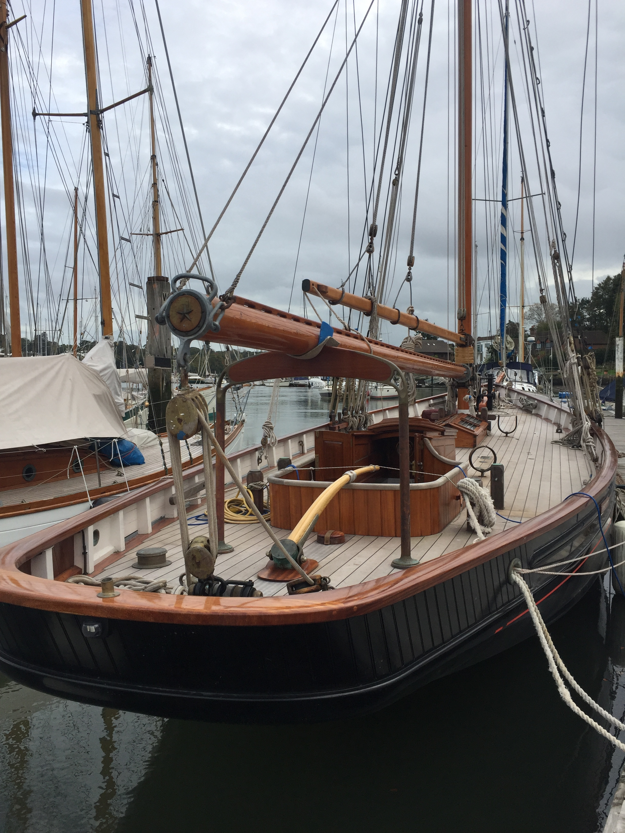 Carlotta 1899 - Built in 1899Bristol Channel Pilot Cutter55