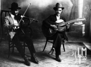 Hernández musicians in México. Uncles of Barrientos brothers.