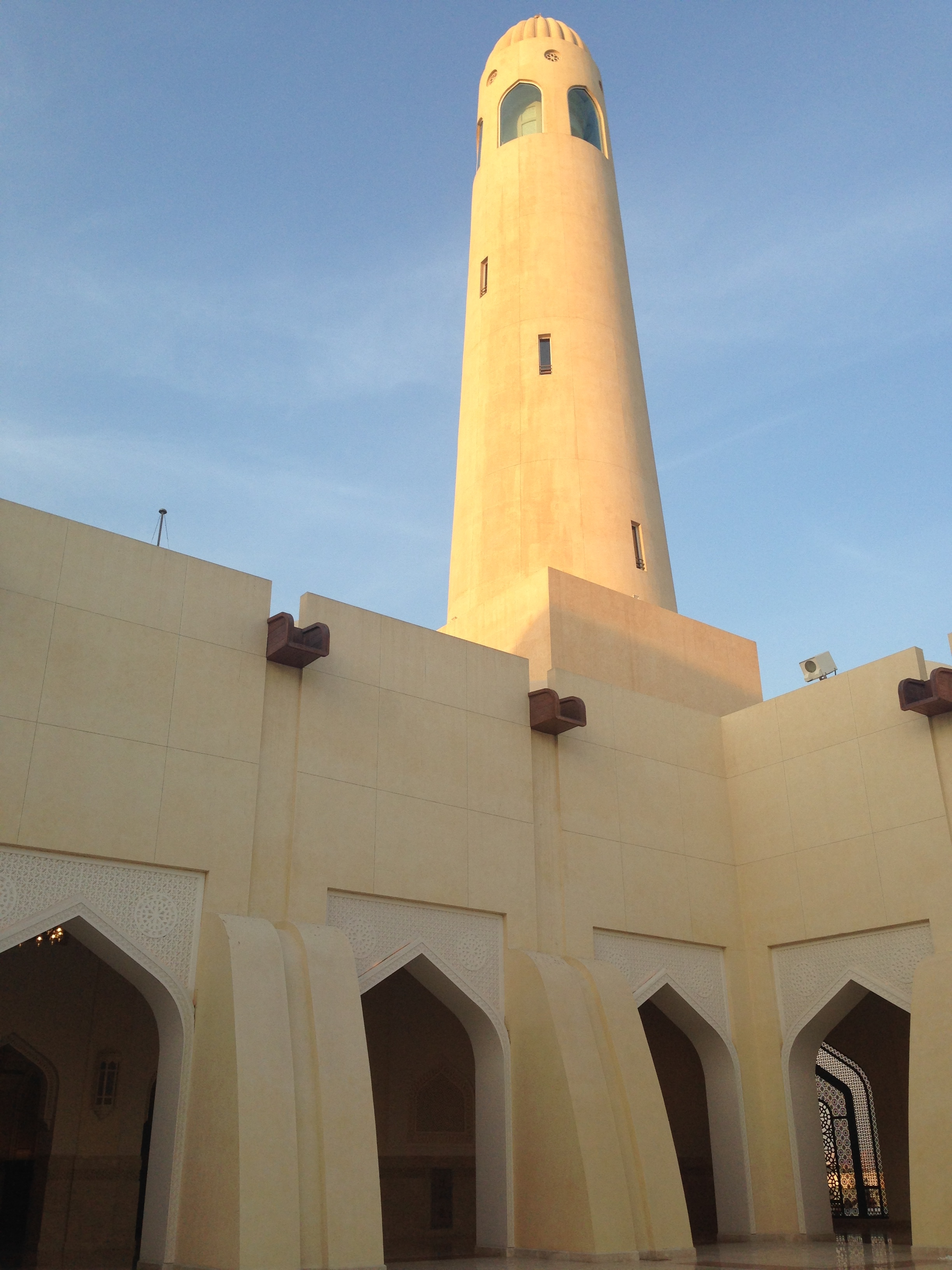 Grand Mosque, Doha.