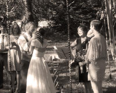 Wedding Celebration under the Chuppah