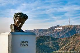 Bust of MR. Dean at the Griffith Observatory