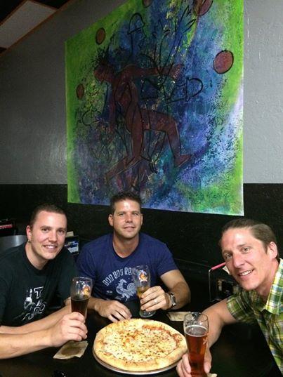 Travis, Kevin & I