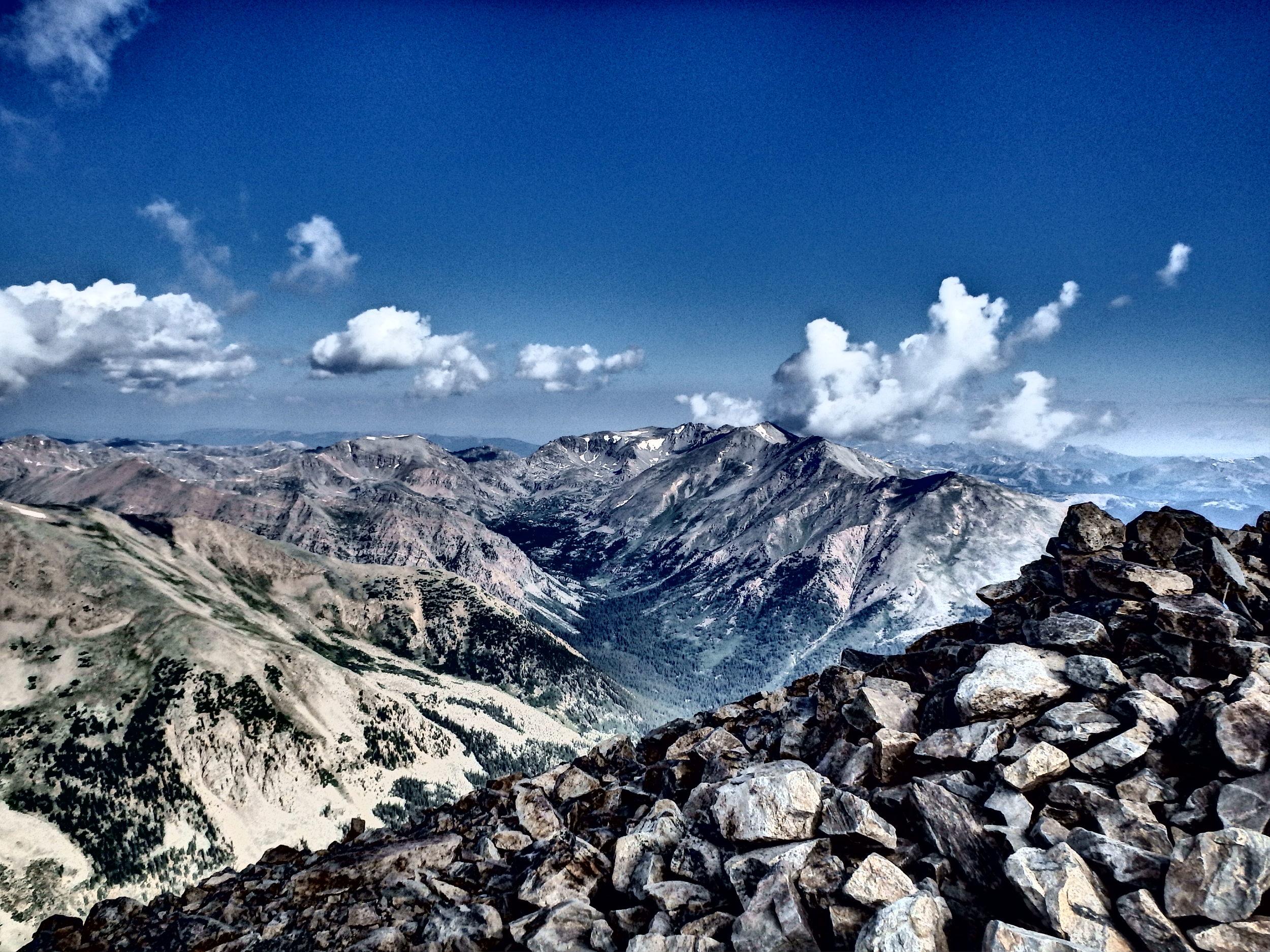 Summit of Mt. Elbert. Highest Point in CO.