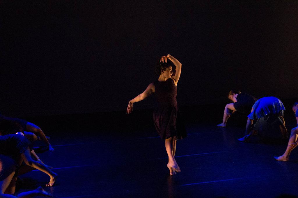 Zoe in performance - photo by Ebbe Sweet