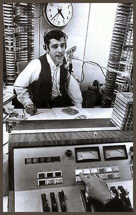 Les Marshak on the air at Musicradio WABC, 1969