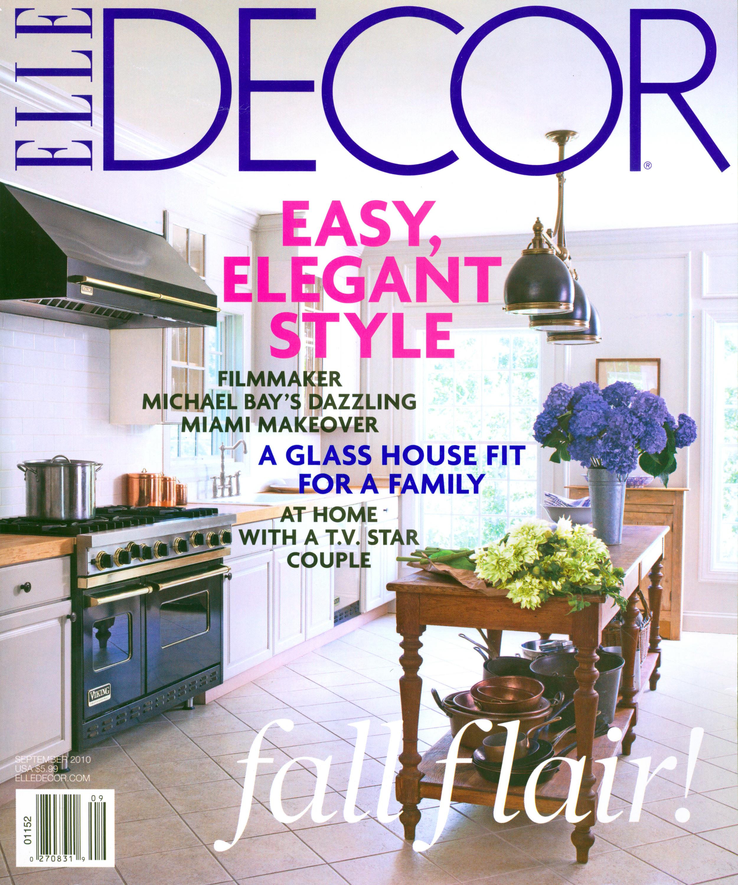 Elle Decor September 2010