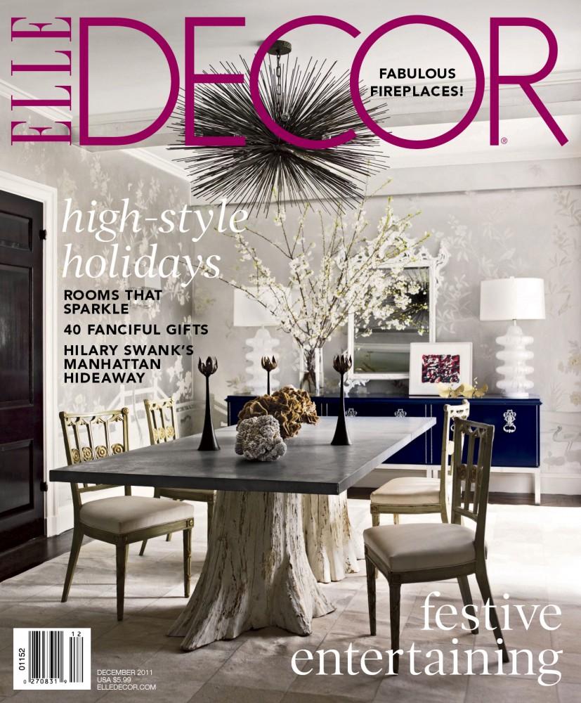 Elle Decor December 2011