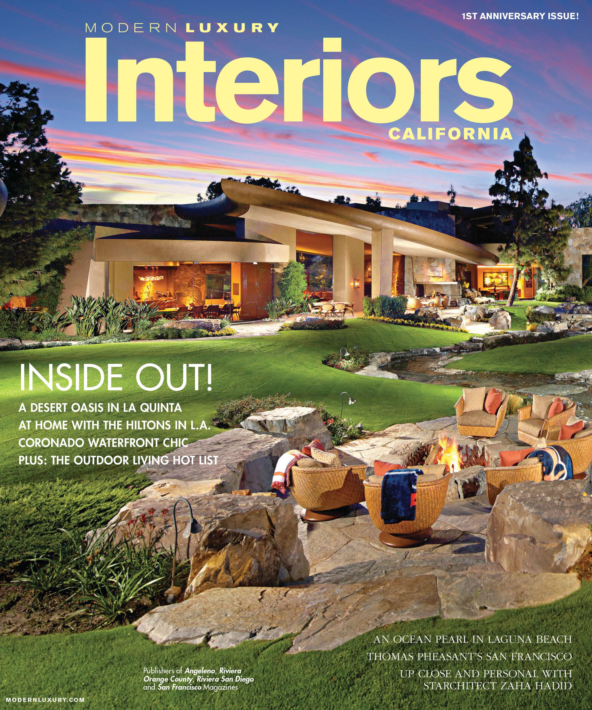 Interiors California Spring 2014