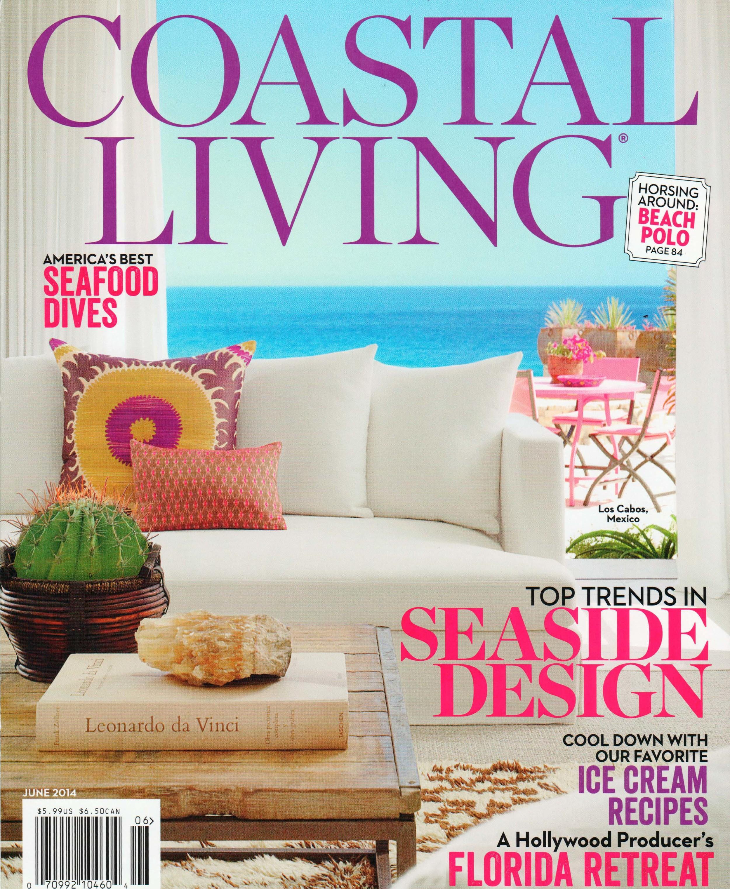 Coastal Living June 2014