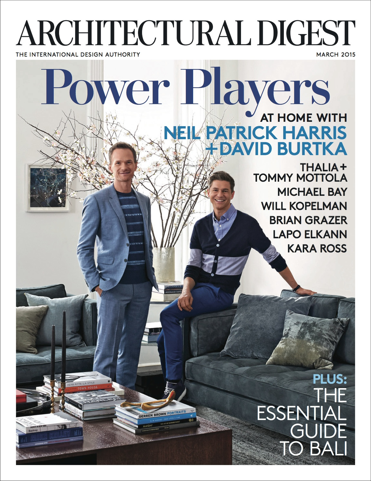 Architectural Digest March 2015