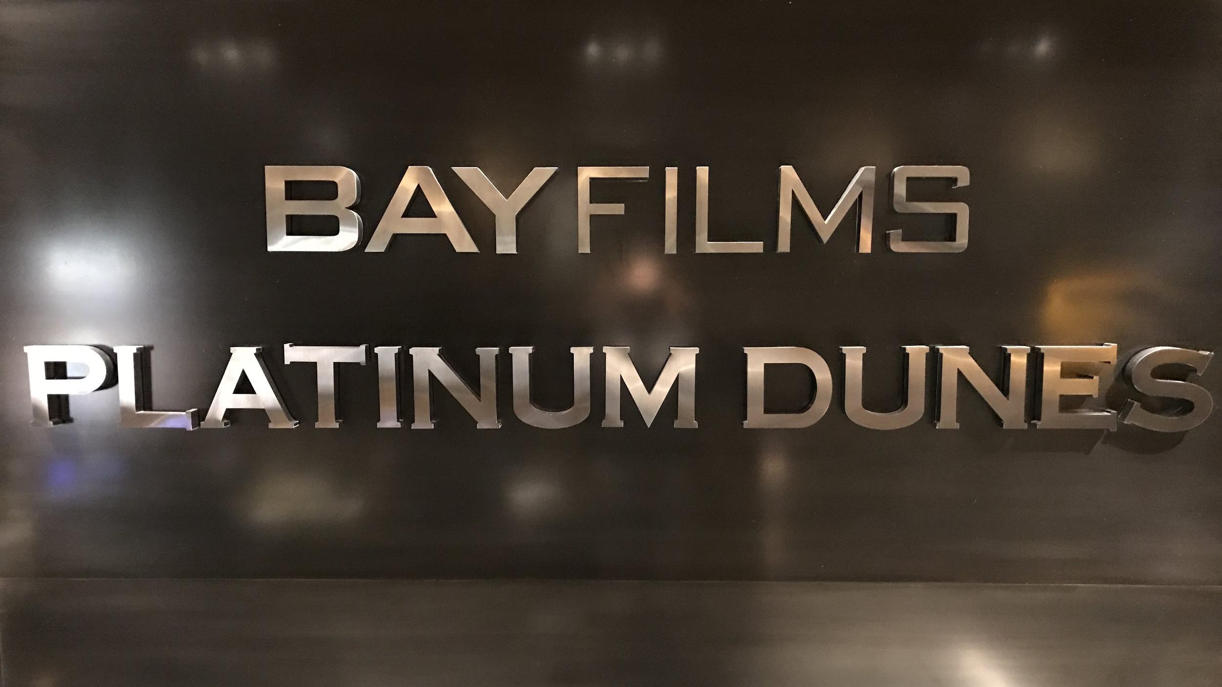 BAY FILMS, PLATINUM DUNES OFFICES