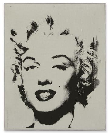 White Marilyn de Andy Warhol, 1962