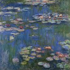 """Water Lilies"" Claude Monet"